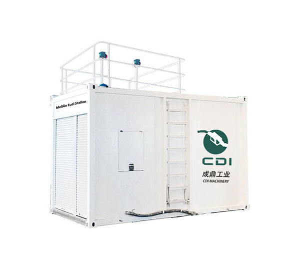 CDI-D32 1 cbm 2cbm Africa Vehicle Mounted Mobile Fuel Station