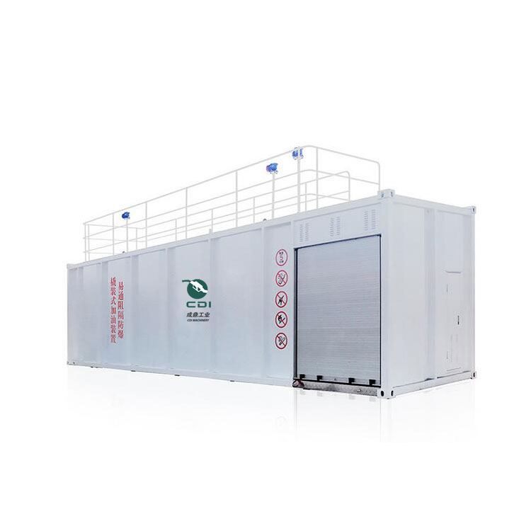 CDI-D31 20ft 40ft Explosion Proof Skid Mounted Container Mobile Gas Station
